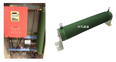 制动电阻和制动单元的配置
