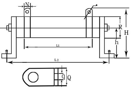 大功率电阻尺寸图